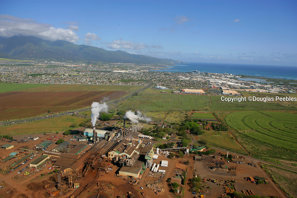 Puunene Sugar Mill, Maui, Hawaii, USA