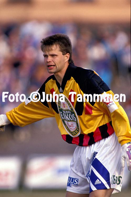 05.05.1993, Lahti, Finland..Veikkausliiga, FC Kuusysi v FC Haka..Jyrki Rovio - Kuusysi.©Juha Tamminen