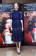 AUG 12 2013 Amanda Seyfried at Lovelace screening
