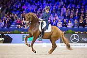 Emmelie Scholtens - Dorado<br /> Jumping Amsterdam 2016<br /> © DigiShots