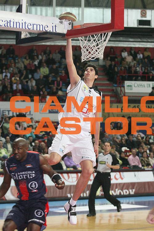DESCRIZIONE : Montecatini Legadue 2006-07 Agricola Gloria Basket Rossoblu Montecatini Carife Ferrara<br /> GIOCATORE : Allegretti<br /> SQUADRA : Carife Ferrara<br /> EVENTO : Campionato Legadue 2006-2007<br /> GARA : Agricola Gloria Basket Rossoblu Montecatini Junior Casale Monferrato<br /> DATA : 10/12/2006<br /> CATEGORIA : Tiro<br /> SPORT : Pallacanestro<br /> AUTORE : Agenzia Ciamillo-Castoria/Stefano D'Errico