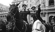 Policemen on Horses,London, UK, 1980s.