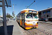 The F Trolley in San Francisco