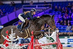 Verheyen Amber, BEL, Linotte v Vogelzang<br /> Jumping Mechelen 2019<br /> © FEI/Dirk Caremans<br />  30/12/2019