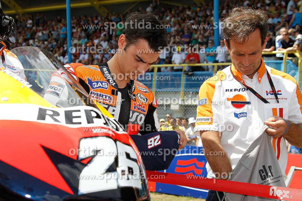 27.06.2010, Assen, NLD, MotoGP, TIM TT Assen, im Bild Dani Pedrosa - Repsol Honda team. EXPA Pictures © 2010, PhotoCredit: EXPA/ InsideFoto/ Semedia +++ for AUT and SLO only +++ / SPORTIDA PHOTO AGENCY