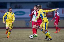 Marko Nunic of NK Aluminij during football match between NK Domzale and NK Aluminij in Round #24 of Prva liga Telekom Slovenije 2017/18, on March 18, 2018 in Sports park Domzale, Domzale, Slovenia. Photo by Urban Urbanc / Sportida