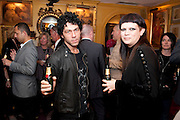 TIM NOBLE; LILIANA SANGUINO, PARTY FOR BLOW BY BLOW BY DETMAR BLOW AND TOM SYKES. ANNABEL'S. BERKELEY SQ. LONDON. 21 SEPTEMBER 2010. -DO NOT ARCHIVE-© Copyright Photograph by Dafydd Jones. 248 Clapham Rd. London SW9 0PZ. Tel 0207 820 0771. www.dafjones.com.