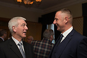 Former Dundee keepers and Scotland internationals Thomson Allan and Rab' Douglas at the Dundee FC 2017 Hall of Fame dinner at Invercarse, Dundee, Photo: David Young<br /> <br />  - &copy; David Young - www.davidyoungphoto.co.uk - email: davidyoungphoto@gmail.com