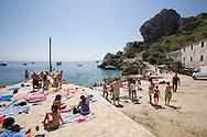 A photo of the beach in Scopello, Sicily, Italy