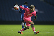 Norwich City's Ben Killip during the Barclays U21 Premier League Cup match between Brighton U21 and U21 Norwich City at the American Express Community Stadium, Brighton and Hove, England on 12 November 2015.