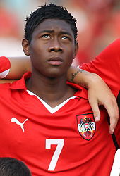 11.08.2010, Waldstadion Pasching, Pasching, AUT, UEFA U21 EM Qualifikation, Oesterreich vs Weissrussland, im Bild David Alaba,(Austria, Mittelfeld, #07), EXPA Pictures © 2010, PhotoCredit: EXPA/ R. Hackl / SPORTIDA PHOTO AGENCY