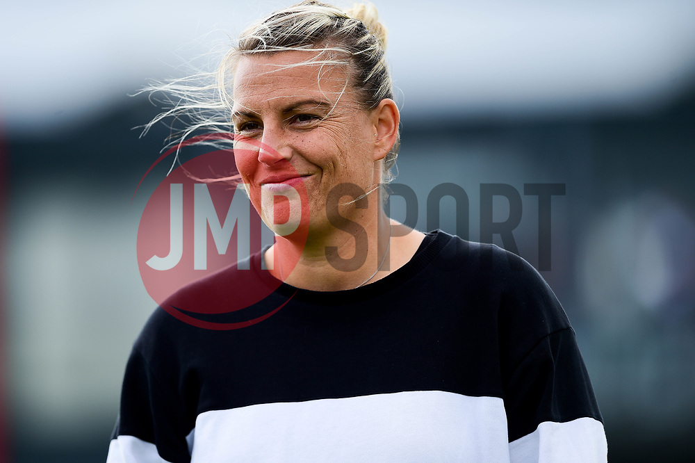 Tanya Oxtoby manager of Bristol City Women prior to kick off - Mandatory by-line: Ryan Hiscott/JMP - 29/09/2019 - FOOTBALL - SGS College Stoke Gifford Stadium - Bristol, England - Bristol City Women v Chelsea Women - FA Women's Super League