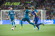 FC Barcelona v Real Madrid - 13 Aug 2017