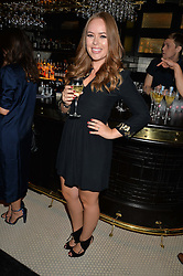 TANYA BURR at the Maybelline New York: Party, part of the London Fashion Week Spring Summer 15 held at Tredwell's, 4a Upper St Martins Lane, London on 12th September 2014.