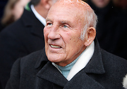 © Licensed to London News Pictures. 18/01/2013. London, U.K..Sir Sterling Moss at the Memorial service for Professor Sid Watkins, former FIA Formula One medical delegate, and crusader for motor sport safety, midday today (18/1/2013) at St.Marylebone Parish Church..Photo credit : Rich Bowen/LNP
