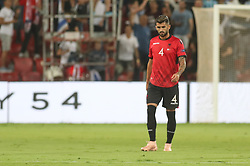October 14, 2018 - Be'Er Sheva, Israel - Elseid Hysaj of Albania during UEFA Nations League C group 1 match between Israel and Albania at Turner Stadium in Be'er Sheva, Israel, on 14 October 2018. Israel won 2-0. (Credit Image: © Ahmad Mora/NurPhoto via ZUMA Press)