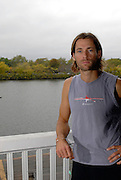 Boston, USA, Josh CROSBY session at the Riverside BC Boathouse, 19/10/2007 [Mandatory Credit Peter Spurrier/Intersport Images]. .....