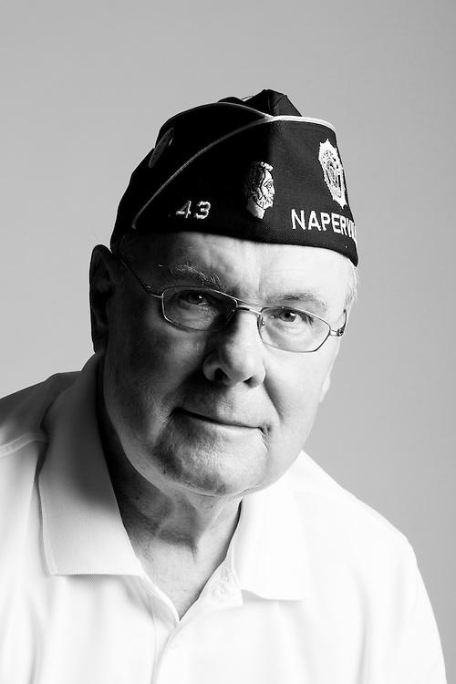 Michael E. Wallzak<br /> Air Force<br /> E-<br /> Surveyor<br /> Dec. 1954 - Sept. 1959<br /> <br /> Veterans Portrait Project<br /> Chicago, IL
