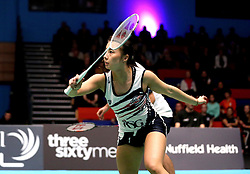 Emily Westwood of Bristol Jets - Photo mandatory by-line: Robbie Stephenson/JMP - 07/11/2016 - BADMINTON - University of Derby - Derby, England - Team Derby v Bristol Jets - AJ Bell National Badminton League