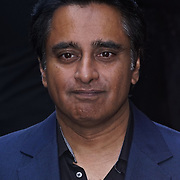 London,England,UK : 15 June 2016 : Sanjeev Bhaskar attend the Disney's Aladdin Opening Night at the Prince Edward Theatre on Old Compton Street, Soho, London. Photo by See Li