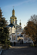 The Church of the Exaltation of the Cross at the Kyiv-Pechersk Lavra on Sunday, October 7, 2018 in Kyiv, Ukraine.
