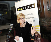 Anne Robinson speaking at an Addaction event in 2007, Mayfair, London, Great Britain <br /> 12th December 2007 <br /> <br /> Anne Robinson