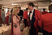 OLIVIA L'ESTRANGE;  LT. ED MILLS The Royal Caledonian Ball 2017, Grosvenor House, 29 April 2017