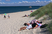 Sylt, Germany. Ellenbogen (Elbow), Sylt's Northernmost point.