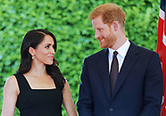 Meghan Markle & Prince Harry At Garden Party