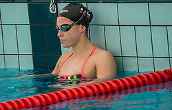 Nastja Govejsek during practice session of Slovenian Swimming National Team, on June 7, 2017 in Zusterna, Koper / Capodistria, Slovenia. Photo by Vid Ponikvar / Sportida