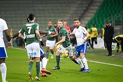February 13, 2019 - Saint Etienne, France - 27 ROBERT BERIC (ASSE) - 17 ANTHONY GONCALVES  (Credit Image: © Panoramic via ZUMA Press)
