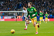 Preston North End forward Tom Barkhuizen (29) during the EFL Sky Bet Championship match between Bolton Wanderers and Preston North End at the University of  Bolton Stadium, Bolton, England on 9 February 2019.