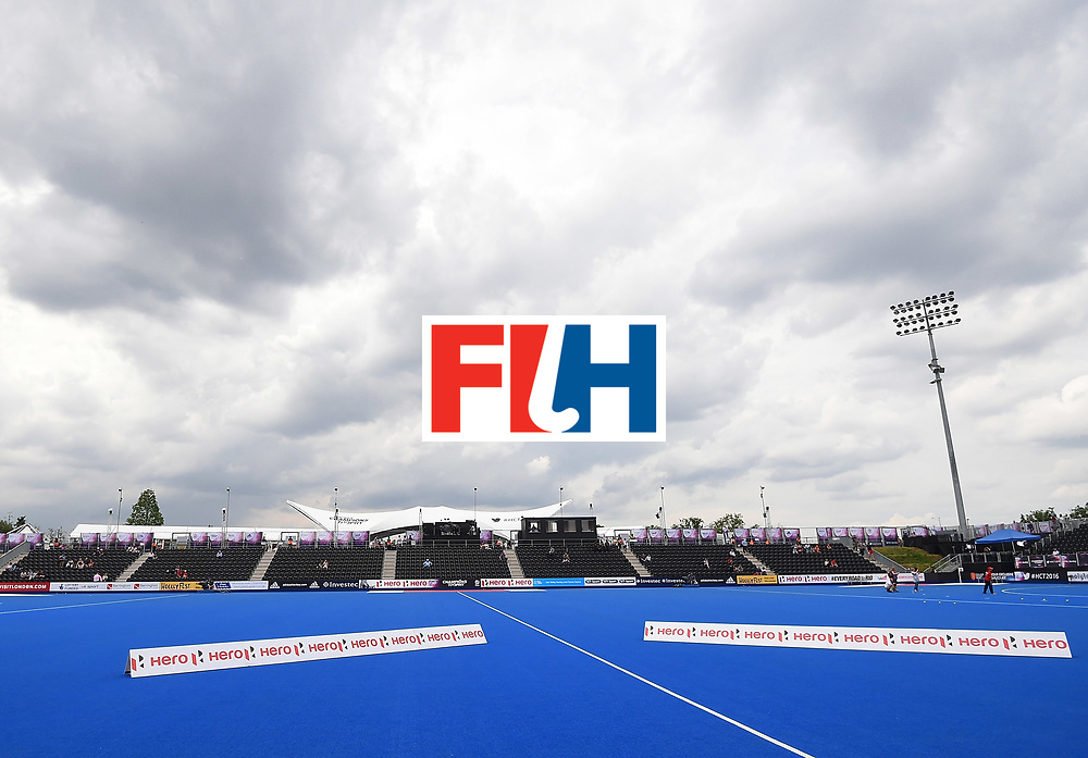 LONDON, ENGLAND - JUNE 11: XXX during day two of the FIH Men's Hero Hockey Champions Trophy 2016 match between Germany and Belgium at Queen Elizabeth Olympic Park on June 11, 2016 in London, England. (Photo by Tom Dulat/Getty Images)