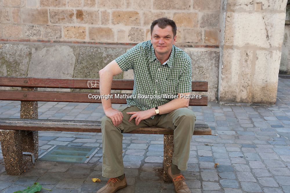 Goran Petrovic, Serbian writer, in Lyon, France, May 18, 2011.<br /> NO FRANCE SALES