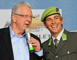 24.09.2011, Heldenplatz, Wien, AUT, Tag des Sports, im Bild Edi Finger jun. und Benjamin Karl // during the Tag des Sports, at Heldenplatz, Vienna, 2011-09-24, EXPA Pictures © 2011, PhotoCredit: EXPA/ M. Gruber