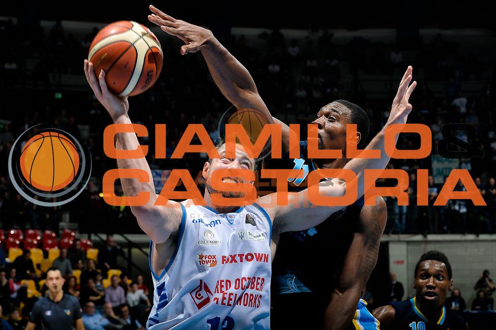 Craig Callahan<br /> Red October Pallacanestro Cantu - Vanoli Cremona<br /> Lega Basket Serie A 2016/2017<br /> Desio, 27/12/2016<br /> Foto Ciamillo-Castoria