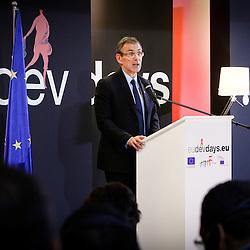 20111216 - Poland - Warsaw  - European Development Days  2011 - Closing Ceremony - Andris Piebalgs , European Commissioner for Development © European Union