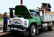 Truck in Vinales, Pinar del Rio, Cuba.