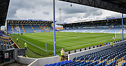 *** during the Sky Bet League 2 match between Portsmouth and Accrington Stanley at Fratton Park, Portsmouth, England on 5 September 2015. Photo by Adam Rivers.