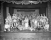 St Augustans, Blackrock, Pantomime 'Miss Baba and the Lily of Killarney'.07/02/1957