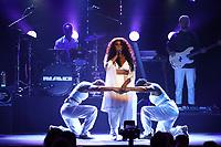 NAO performs on stage during the 2019 Hyundai Mercury Prize, Eventim Apollo, London, UK, Saturday 06 July 2019<br /> Photo JM Enternational