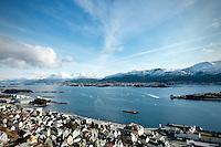 Postkortstemning i Ålesund, påsken 2016.<br /> Foto: Svein Ove Ekornesvåg