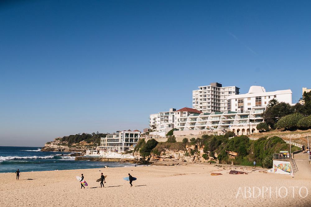 Sydney New South Wales Australia Bondi beach Eastern Suburbs