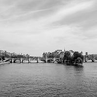 The Seine River pictured in Paris, France 2015.