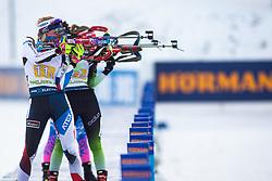 Marketa Davidova (CZE) during the Mixed Relay 2x 6 km / 2x 7,5 km at day 3 of IBU Biathlon World Cup 2019/20 Pokljuka, on January 23, 2020 in Rudno polje, Pokljuka, Pokljuka, Slovenia. Photo by Peter Podobnik / Sportida
