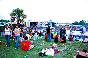 Crowds of people at the Vans Warped Tour, USA touring punk rock music festival, Bicentennial park, Miami, Florida, USA. 24th June 2006