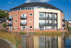 Park Wharf apartments; an area formally occupied by small industries in the City of Nottingham,