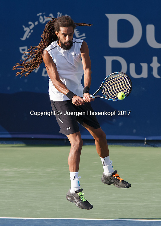 DUSTIN BROWN (GER)<br /> <br /> Tennis - Dubai Duty Free Tennis Championships - ATP -  Dubai Duty Free Tennis Stadium - Dubai -  - United Arab Emirates  - 28 February 2017. <br /> &copy; Juergen Hasenkopf