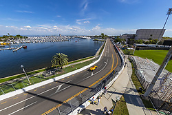 March 8, 2019 - St. Petersburg, Florida, U.S. - RYAN HUNTER-REAY (28) of the United States goes through the turns during practice for the Firestone Grand Prix of St. Petersburg at Temporary Waterfront Street Course in St. Petersburg, Florida. (Credit Image: © Walter G Arce Sr Asp Inc/ASP)