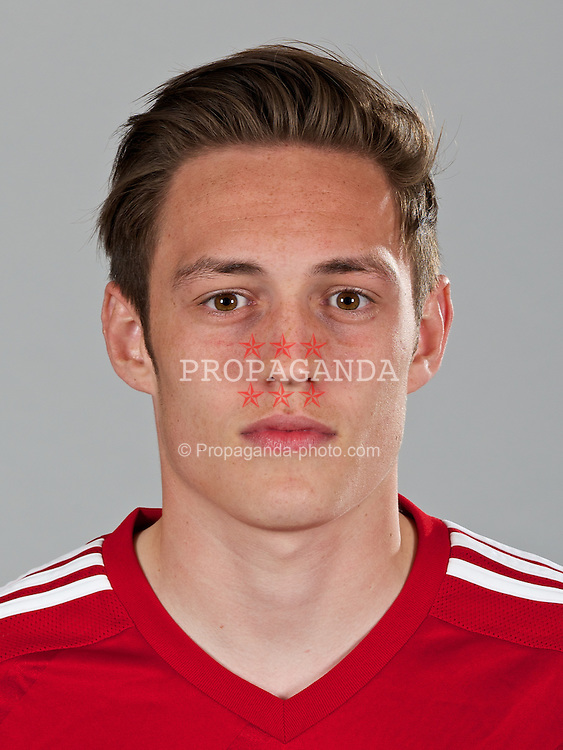 CARDIFF, WALES - Wednesday, April 23, 2014: Wales' Connor Roberts. (Pic by David Rawcliffe/Propaganda)